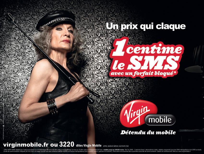 Virgin Print Ad -  Lady