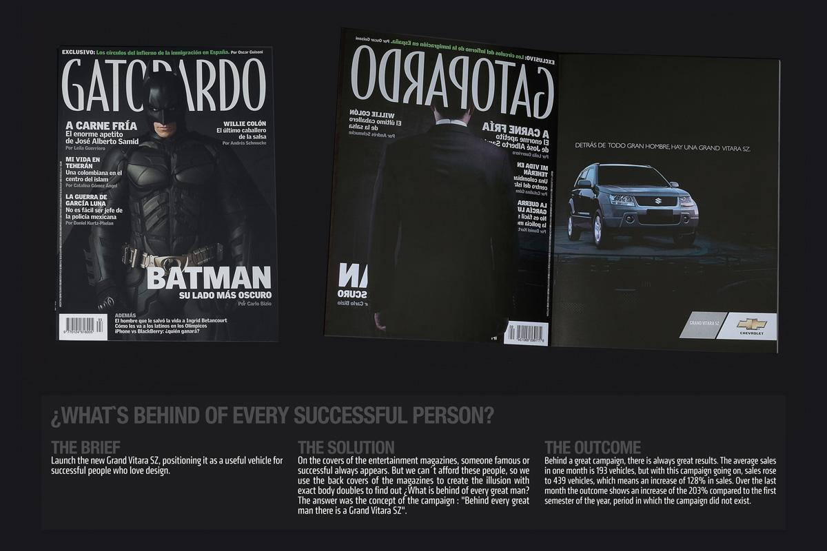 Suzuki Print Ad -  Batman