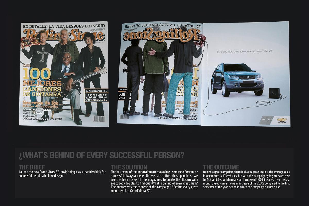 Suzuki Print Ad -  Rolling Stone