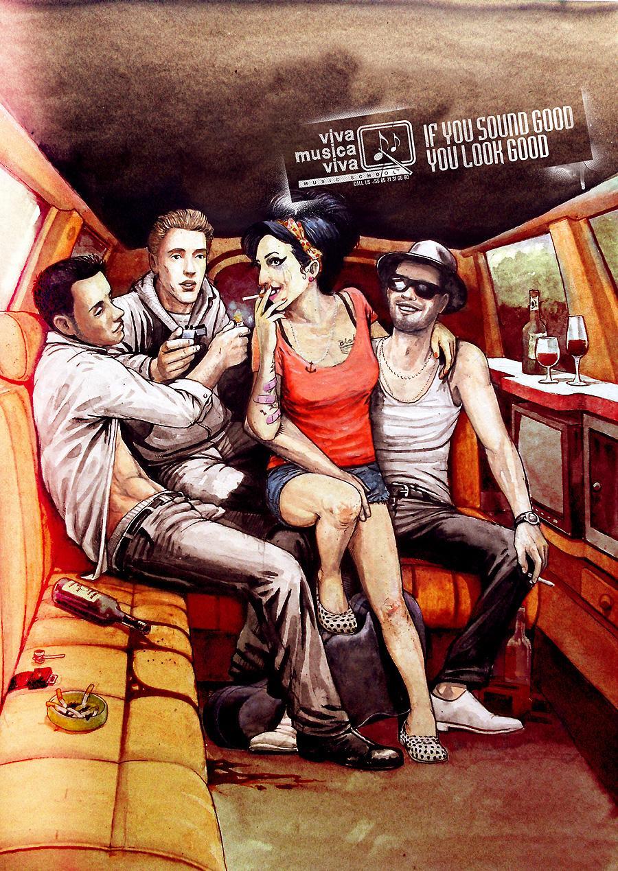 VIVA Música VIVA Print Ad -  Amy