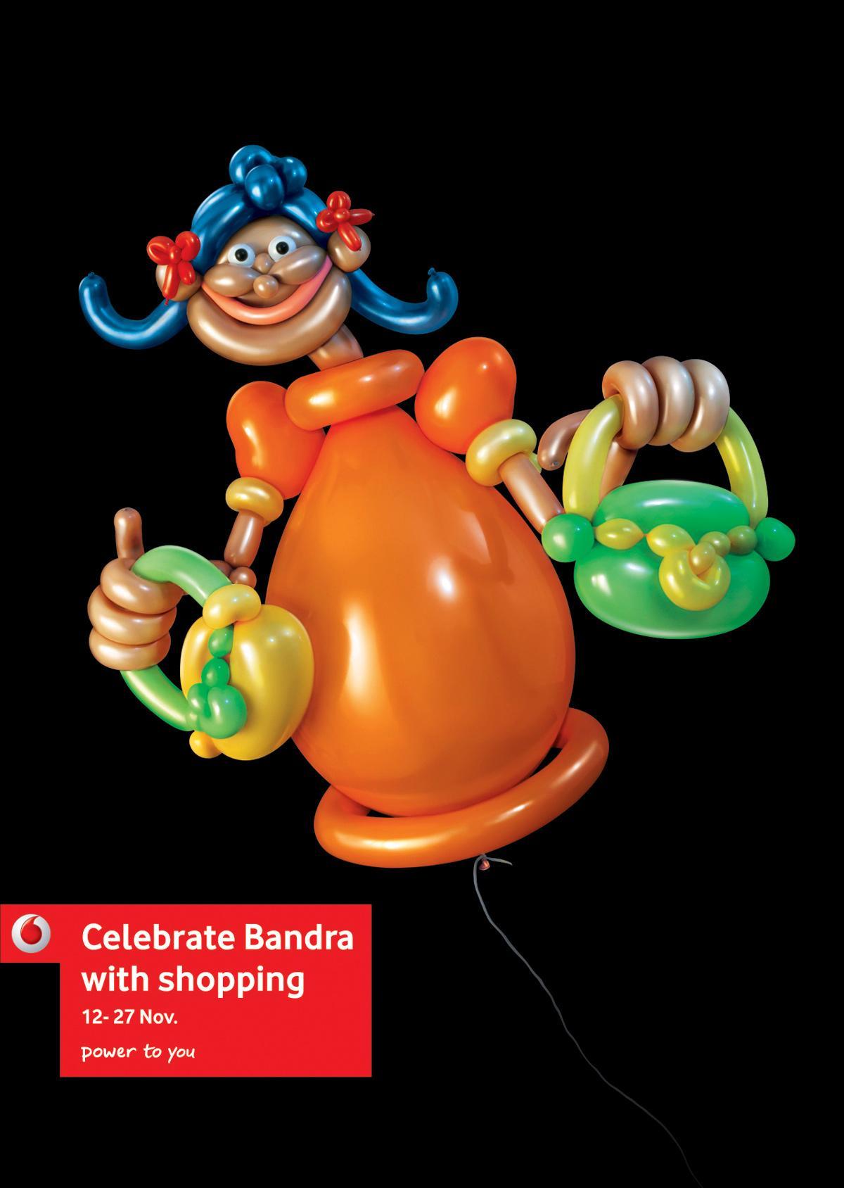 Vodafone Print Ad -  Celebrate Bandra, Purses
