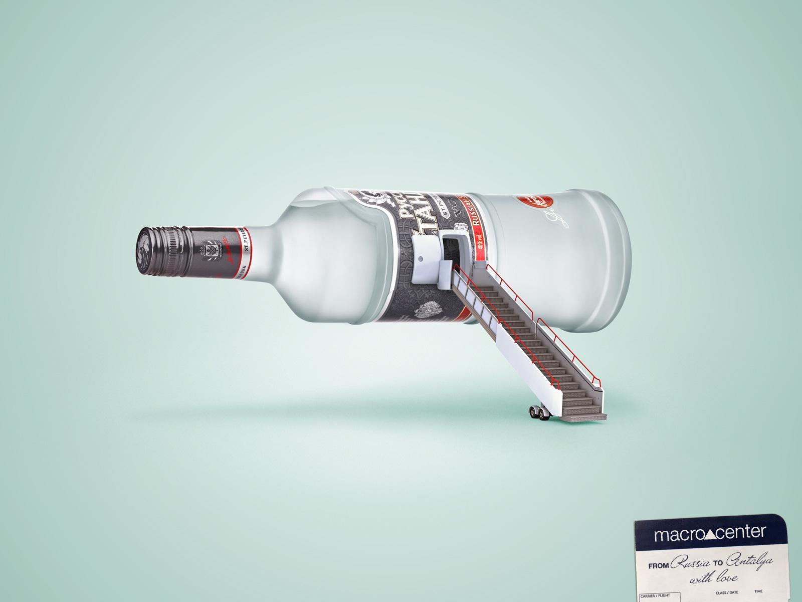 Macrocenter Print Ad -  Vodka