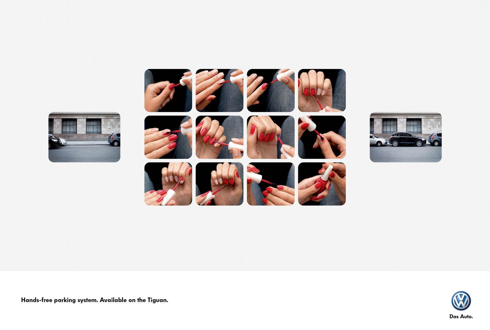 Volkswagen Print Ad -  Nails