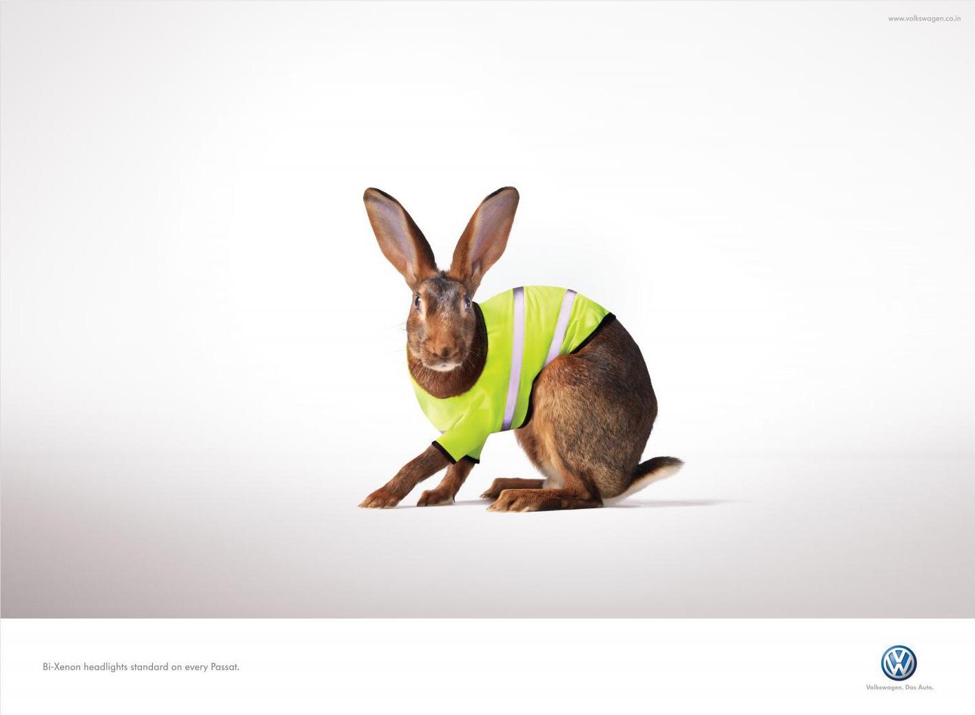 Volkswagen Print Ad -  Hare