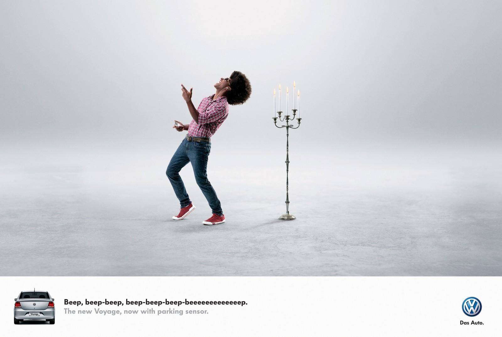 Volkswagen Print Ad -  Beep-beep, 1