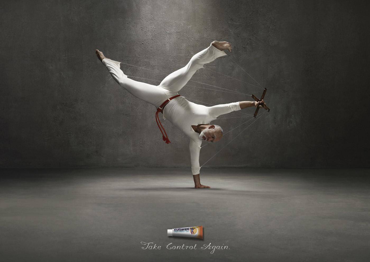 Voltaren Print Ad -  Capoeira