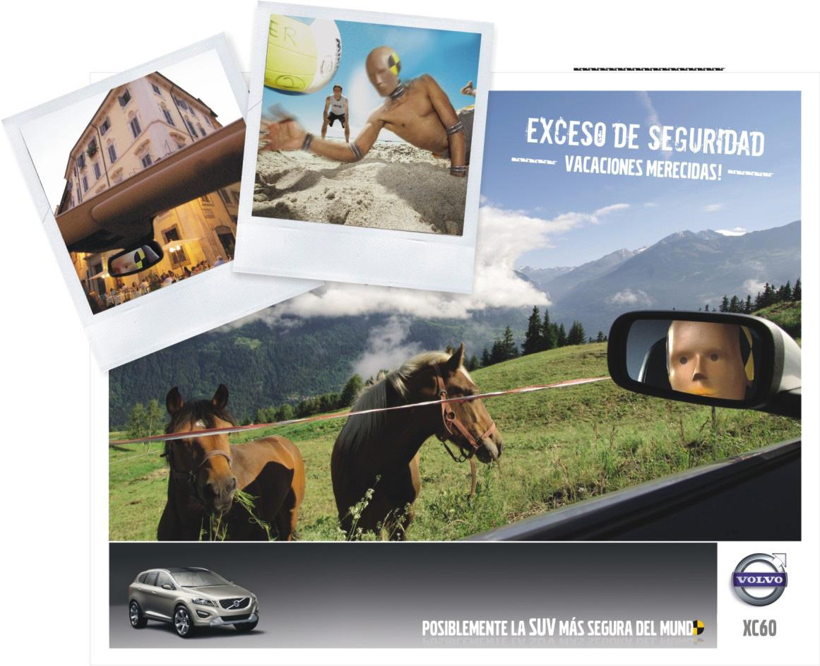 Volvo Print Ad -  Safe, 2