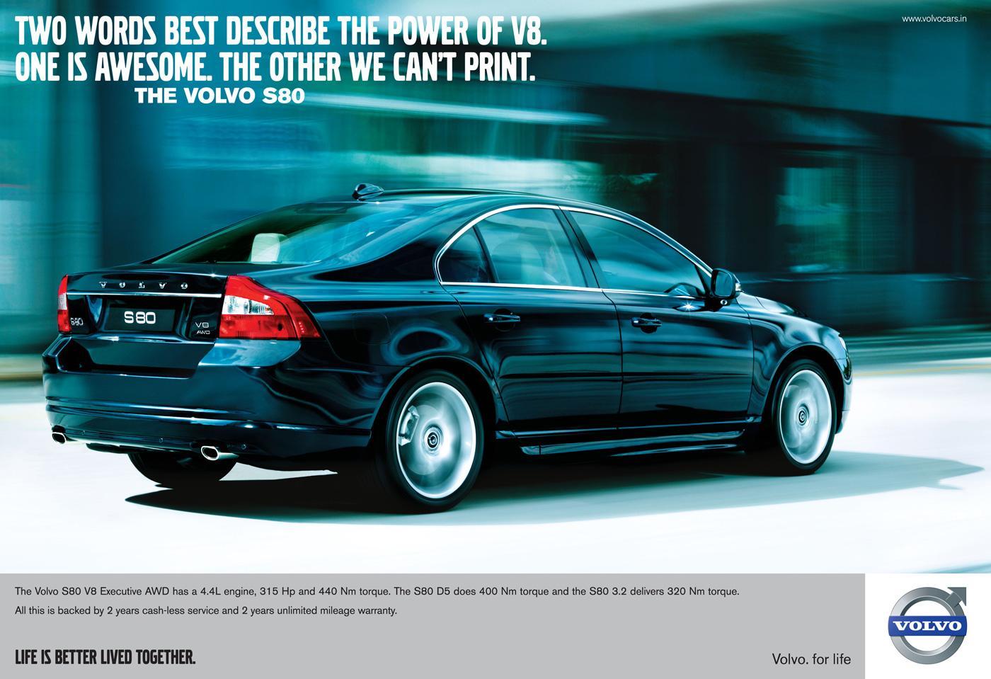 Volvo Print Ad -  Words