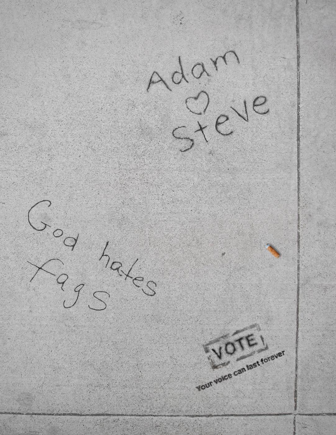 Vote Print Ad -  Adam
