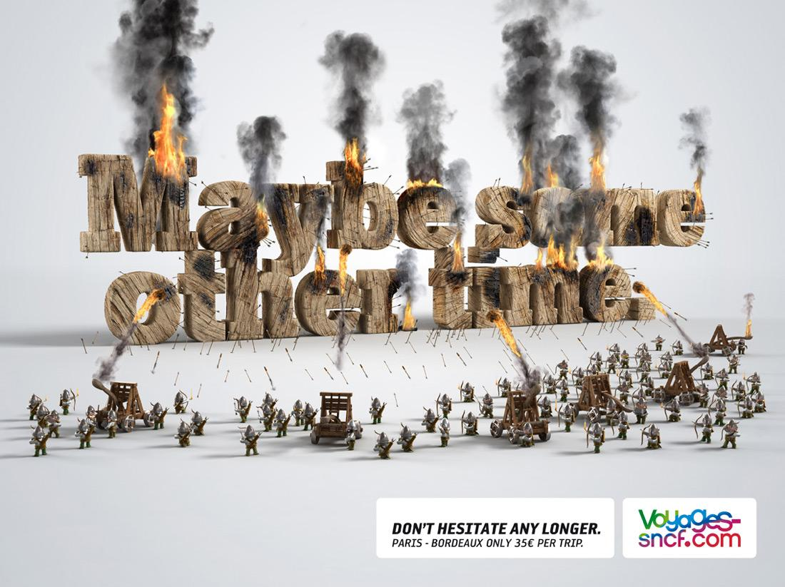 Voyages-Sncf.com Print Ad -  Other time