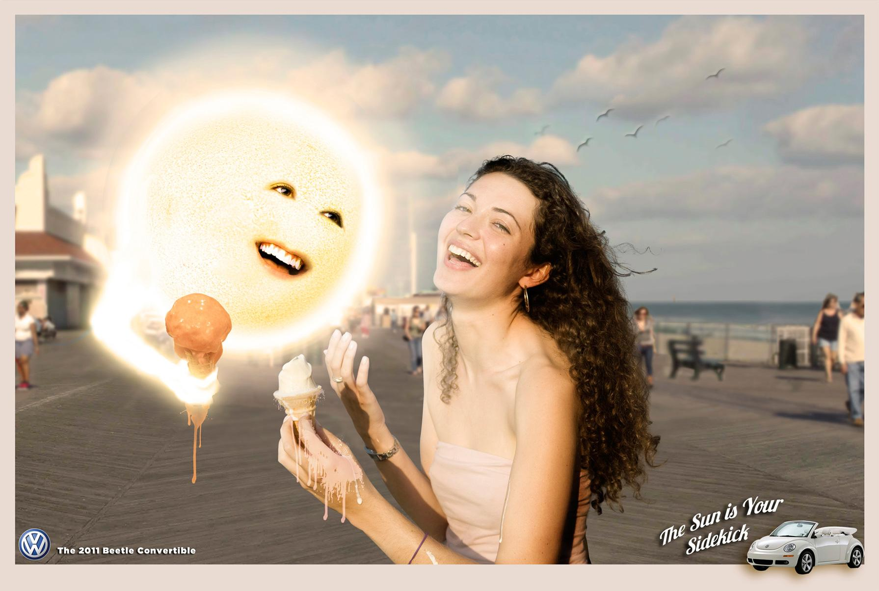Volkswagen Print Ad -  Sun, 1