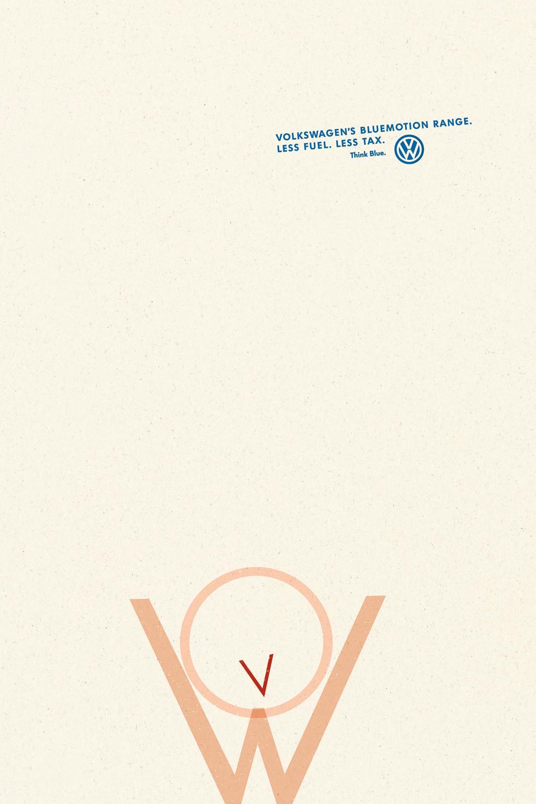Volkswagen Print Ad -  Cheering Man