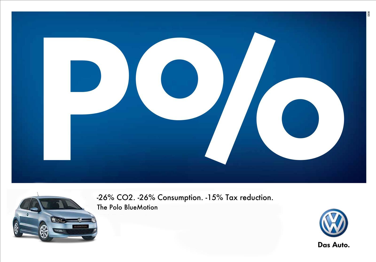 Volkswagen Print Ad -  Percent