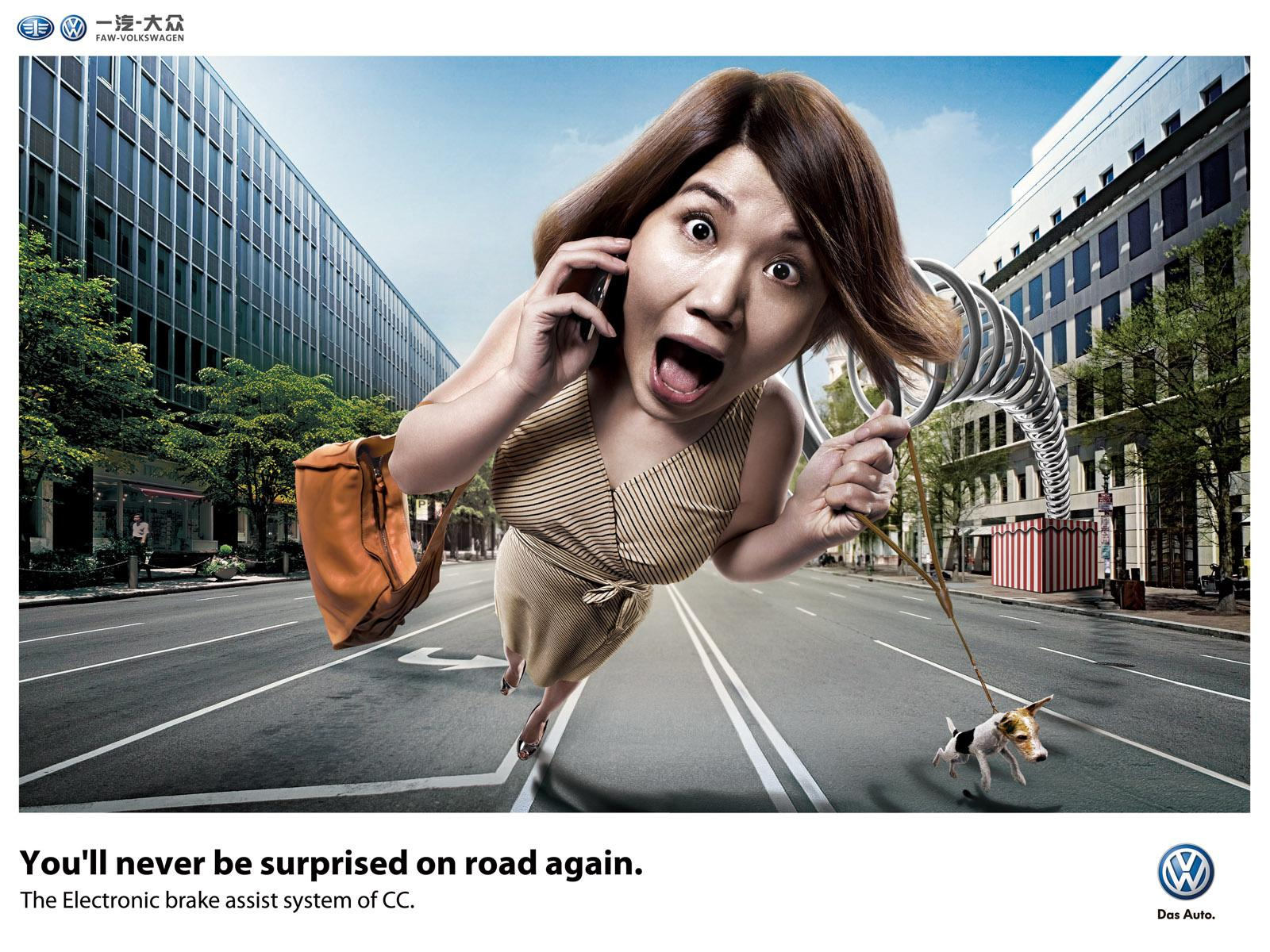 Volkswagen Print Ad -  Women