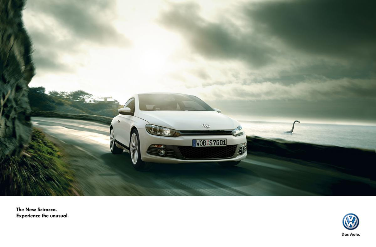 Volkswagen Print Ad -  Experience the unusual, 1