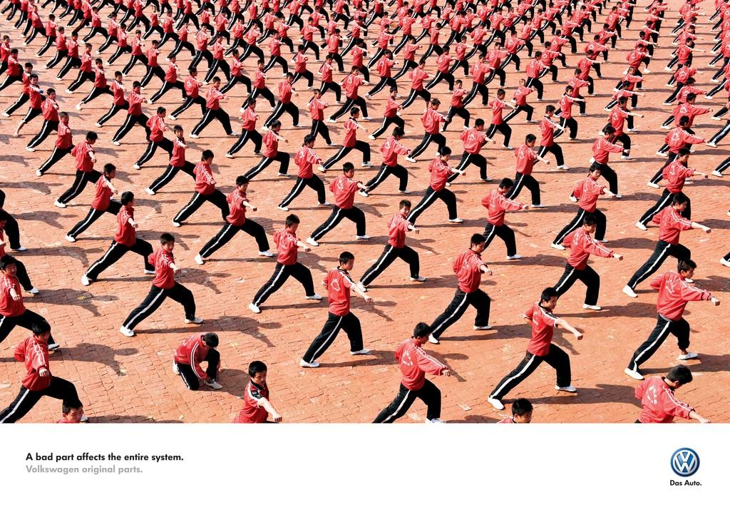 Volkswagen Print Ad -  Bad part, 1
