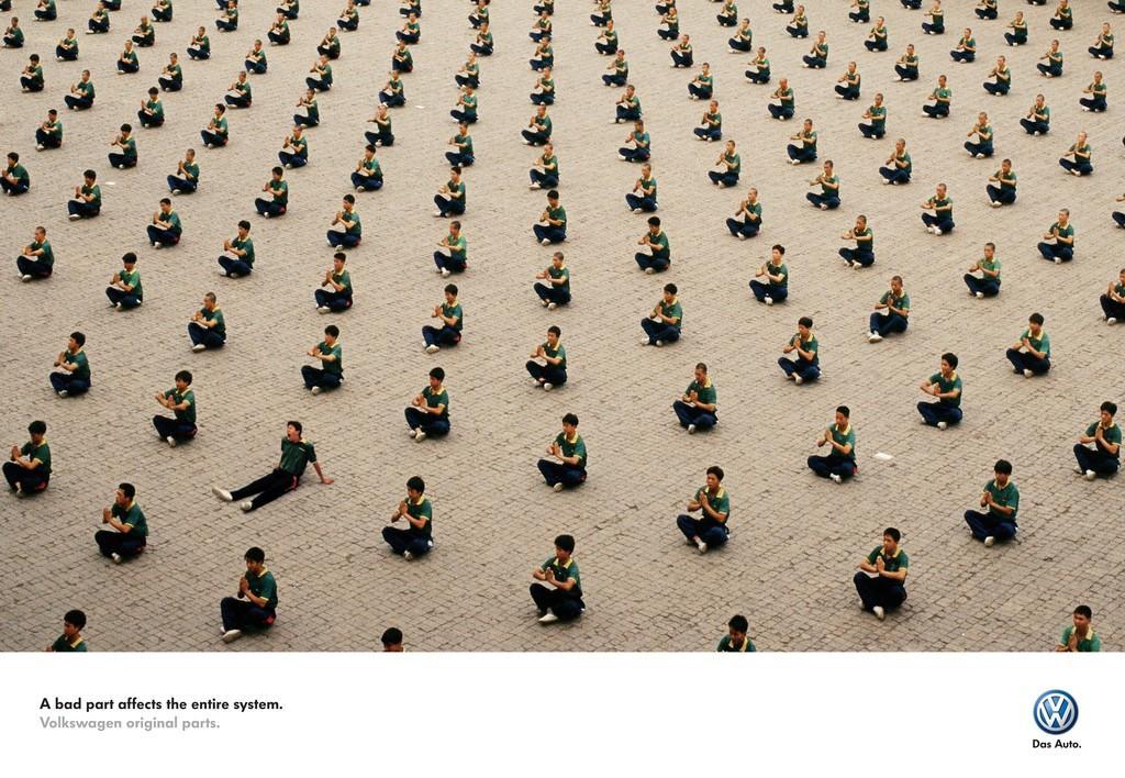 Volkswagen Print Ad -  Bad part, 2