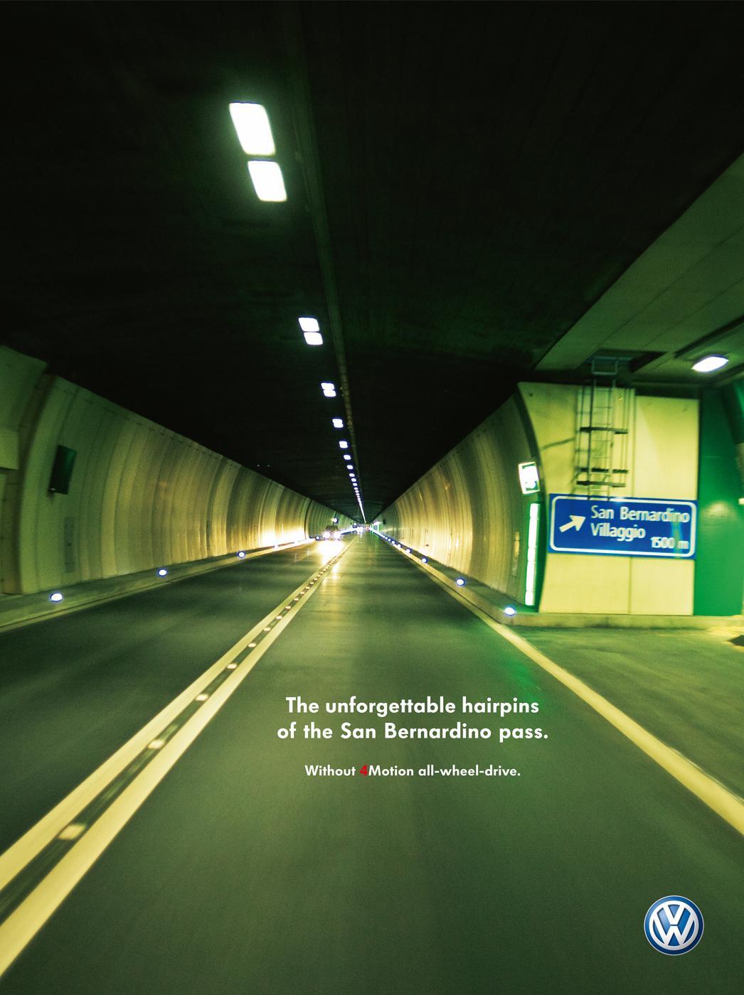 Volkswagen Print Ad -  San Bernardino