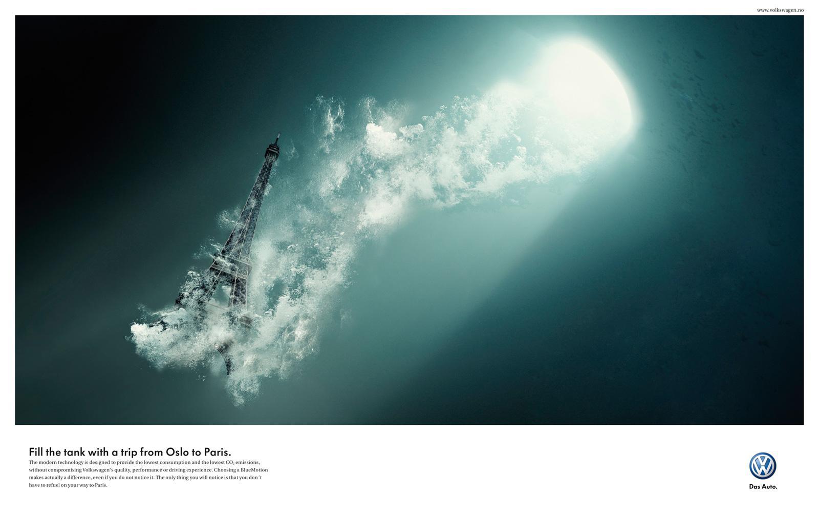 Volkswagen Print Ad -  Paris