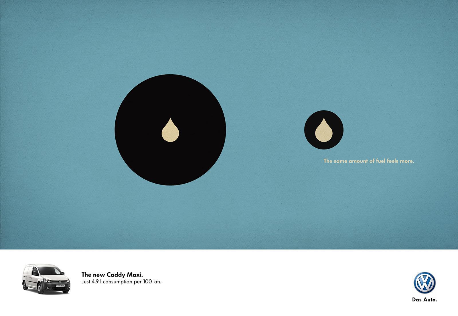 Volkswagen Print Ad -  Drop