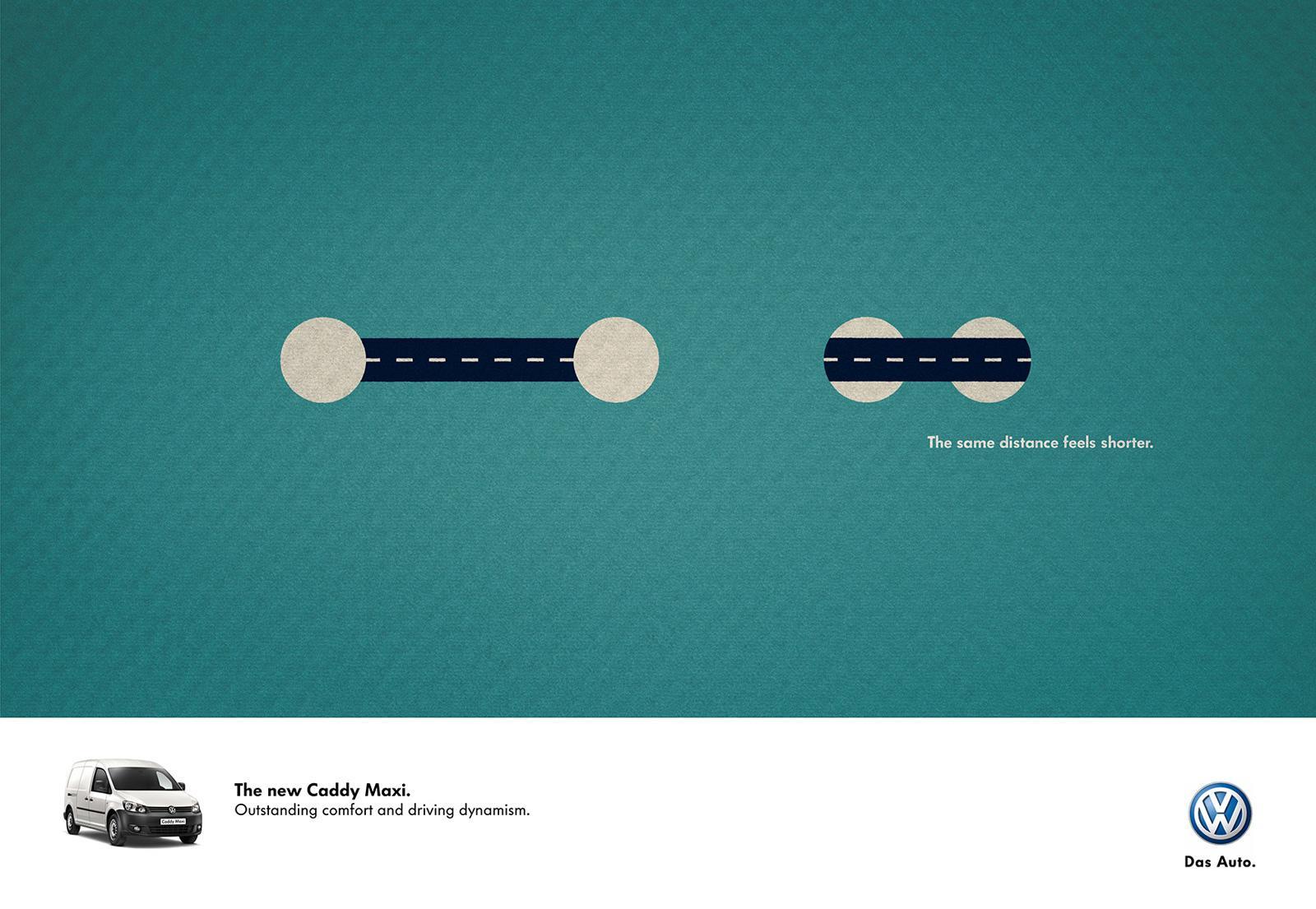 Volkswagen Print Ad -  Road