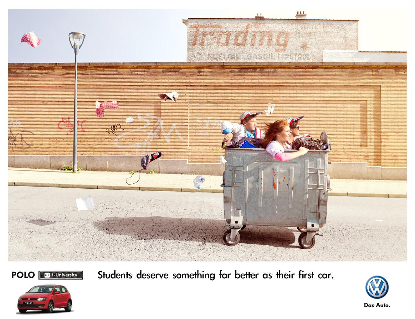 Volkswagen Print Ad -  University