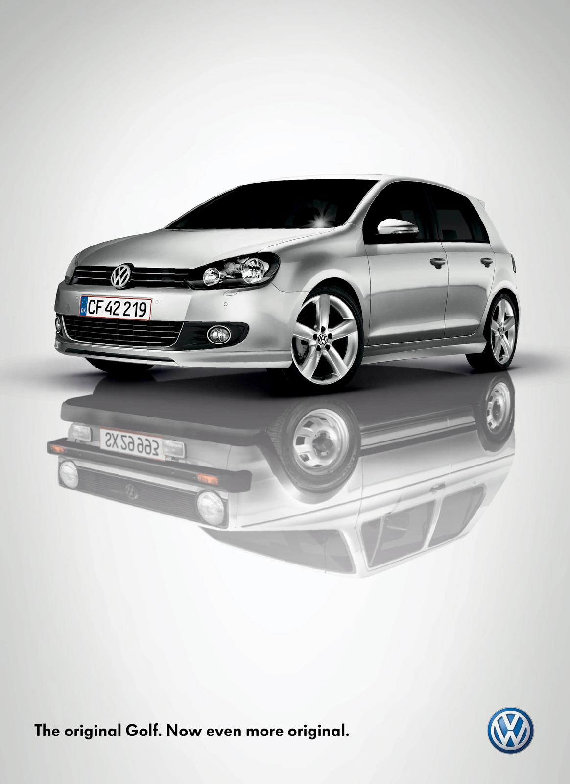 Volkswagen Print Ad -  Reflection