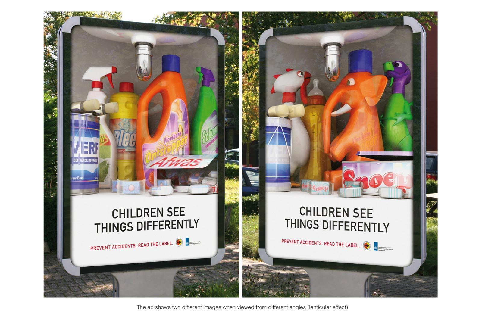 VWA Outdoor Ad -  Children See Things Differently