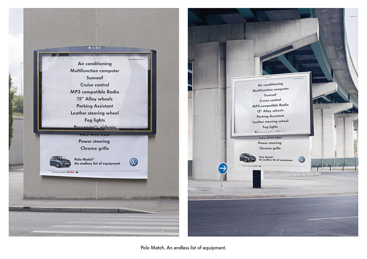 Volkswagen Outdoor Ad -  Endless