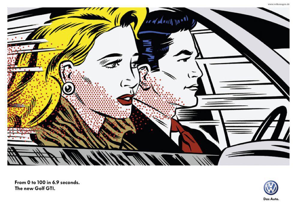 Volkswagen Print Ad -  Fast