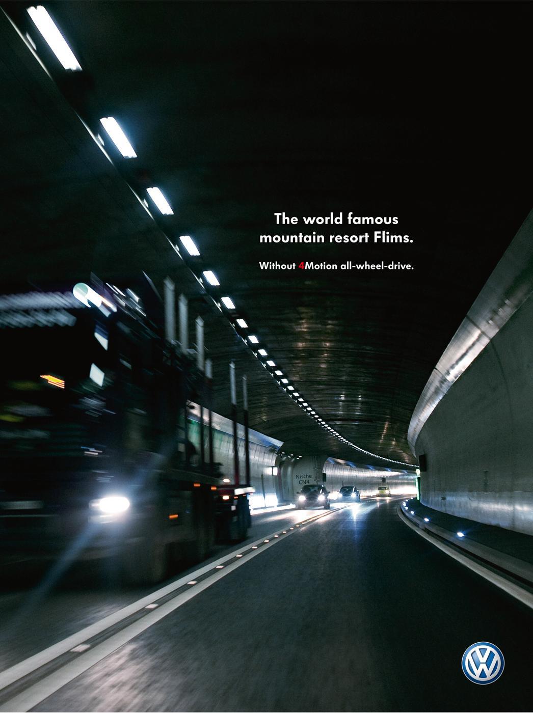 Volkswagen Print Ad -  Flims