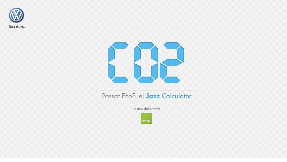 Volkswagen Digital Ad -  Jazz Calculator