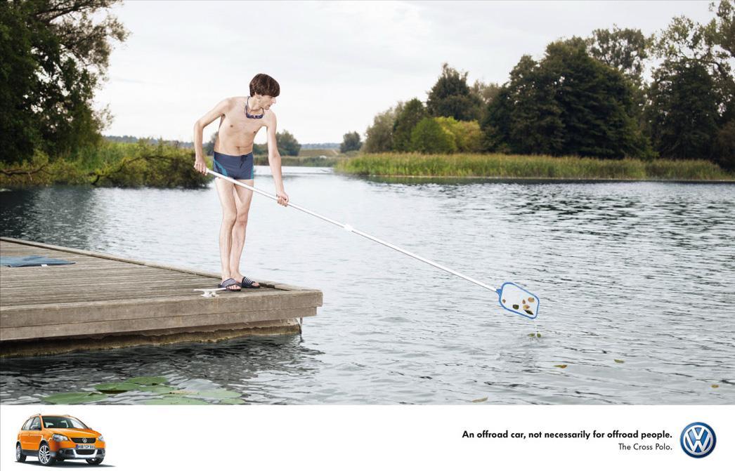 Volkswagen Print Ad -  Lake