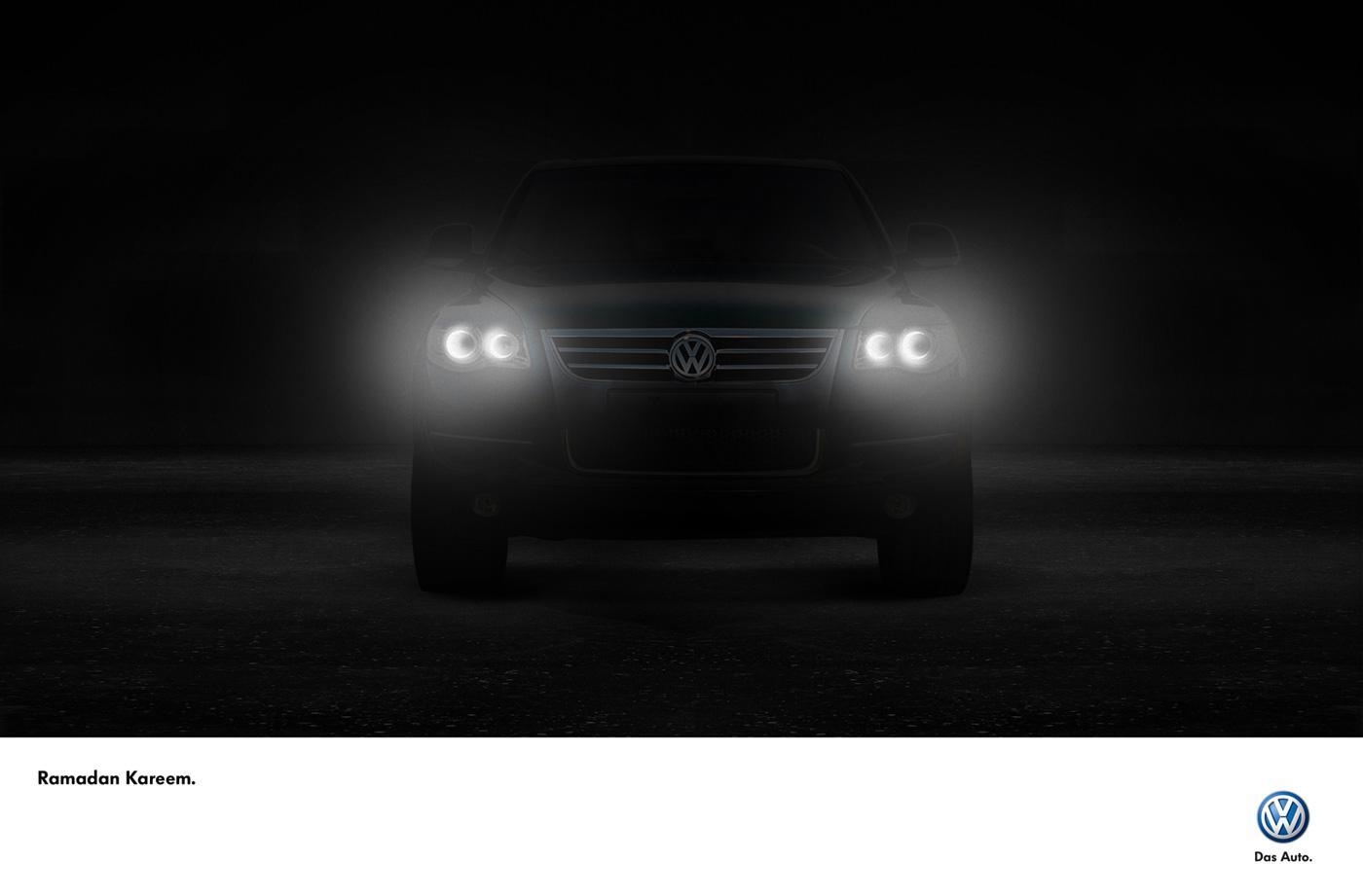 Volkswagen Print Ad -  Front