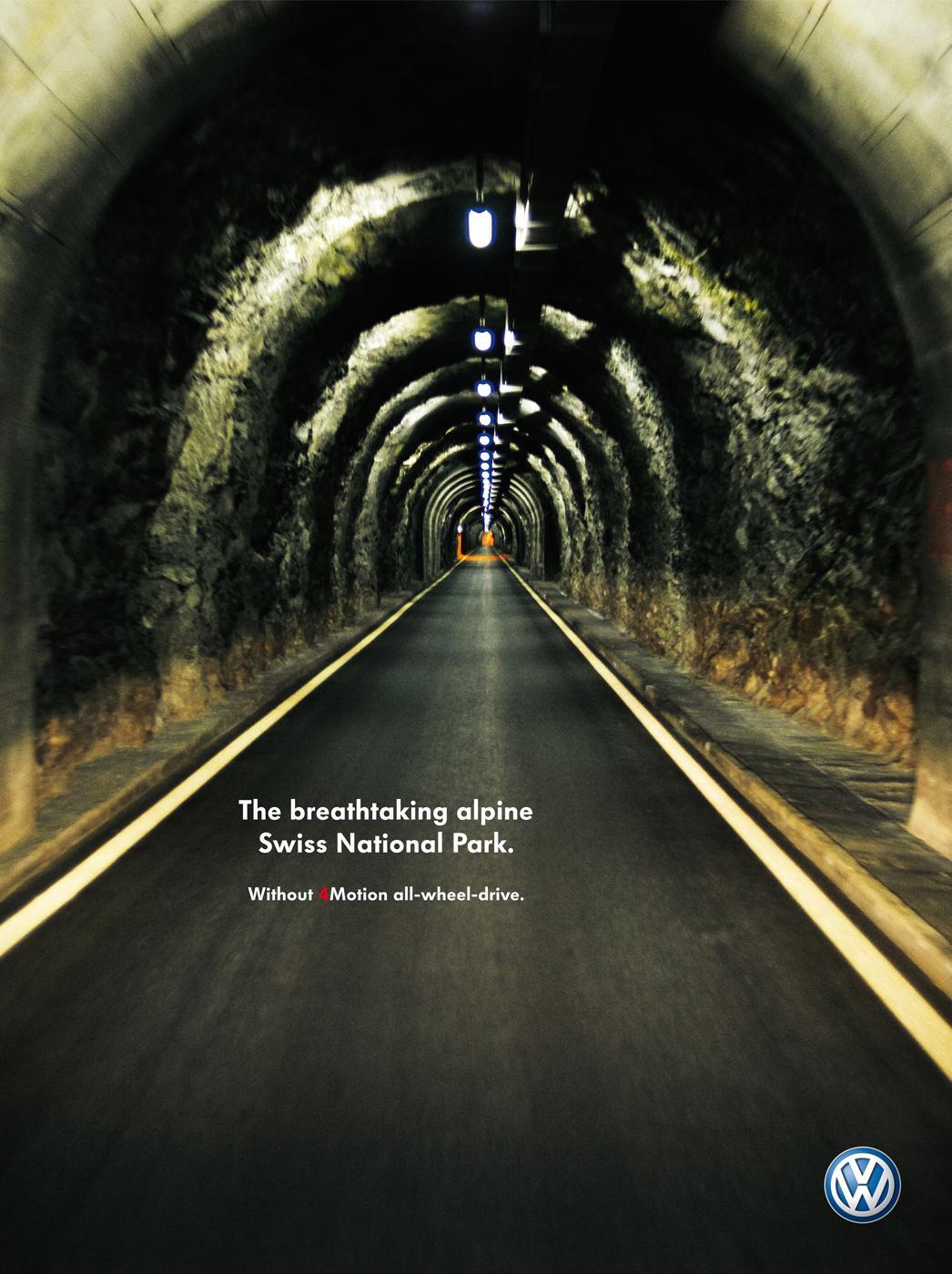 Volkswagen Print Ad -  Swiss National Park