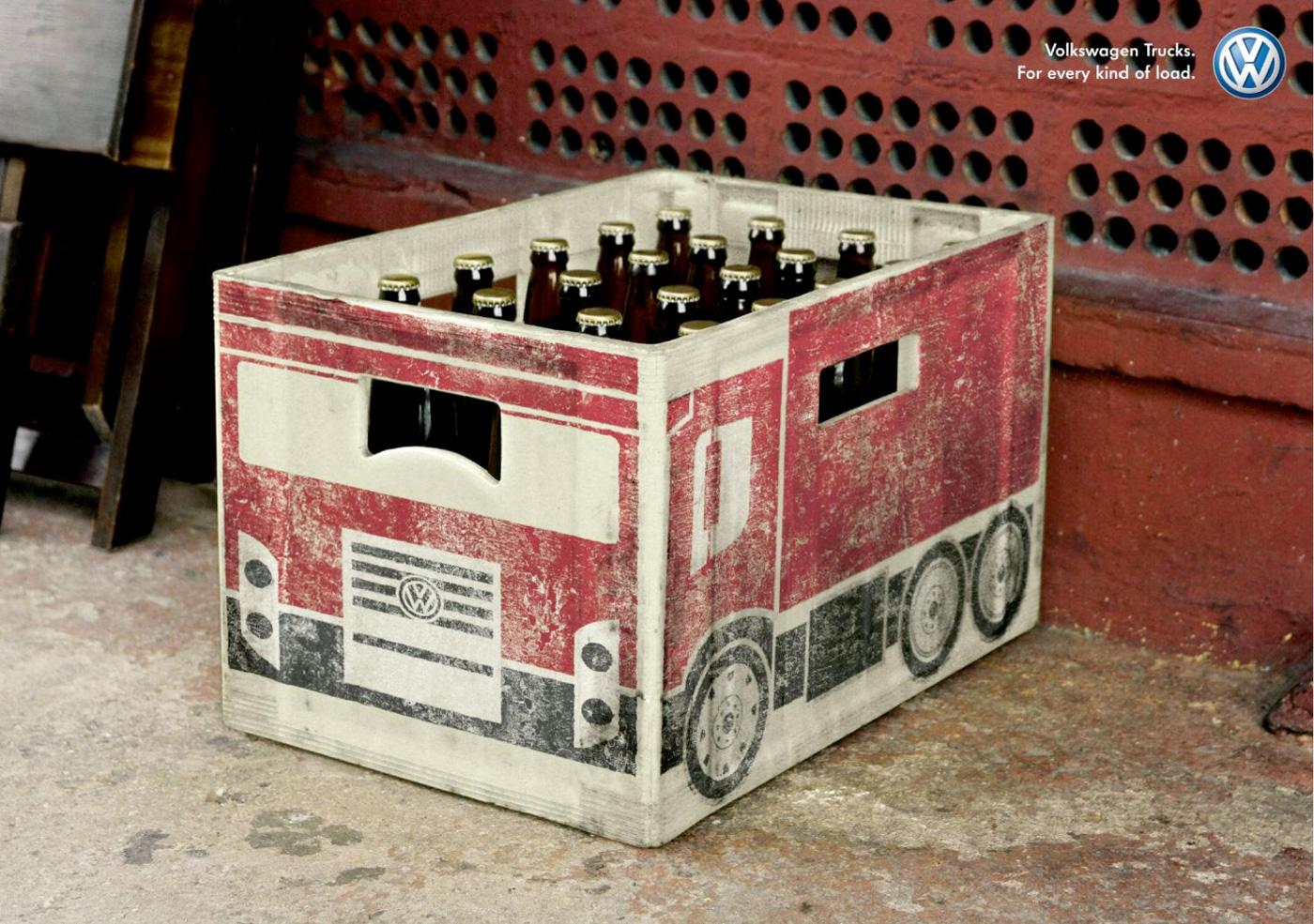 Volkswagen Outdoor Ad -  Beer