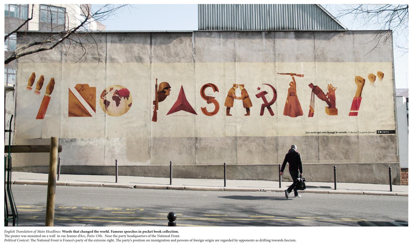 Editions Points Outdoor Ad -  Mandela