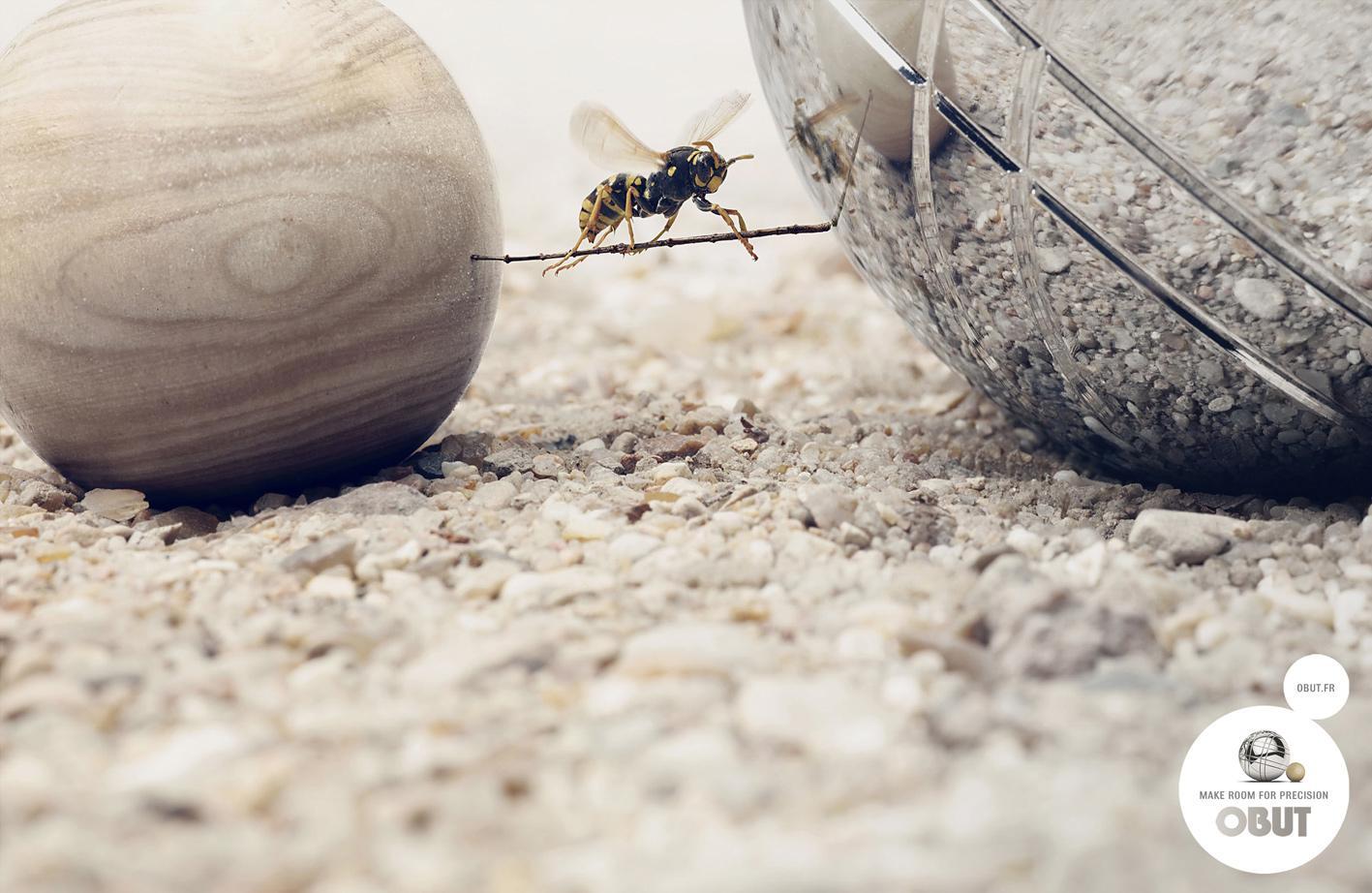 Obut Print Ad -  Wasp
