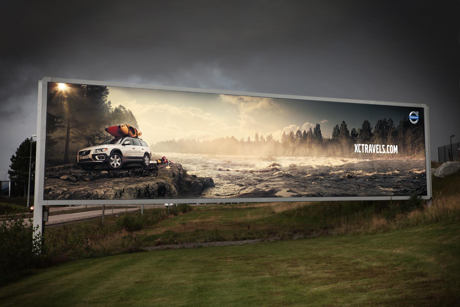 Volvo Outdoor Ad -  Water