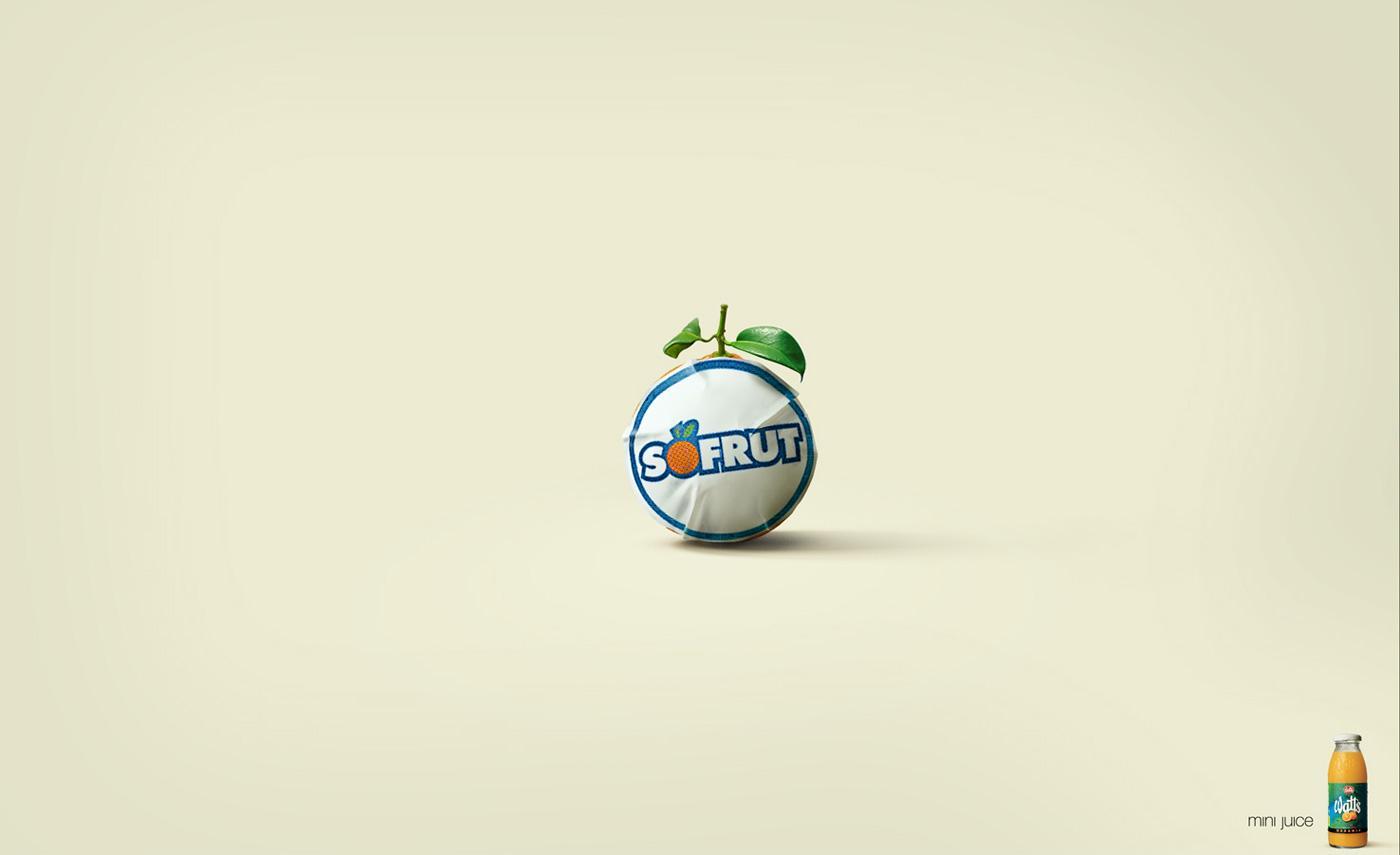 Watts Print Ad -  Orange