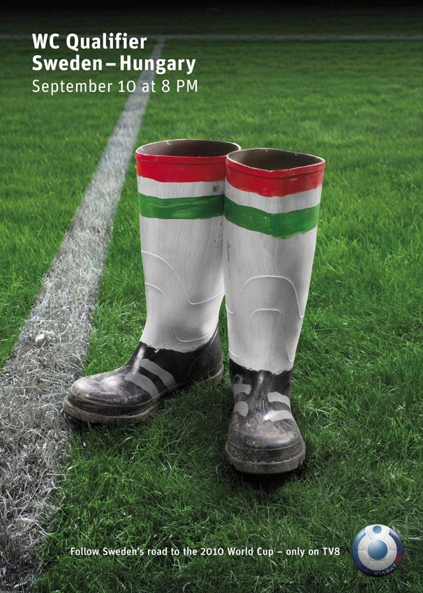 TV8 Print Ad -  World Cup, 2