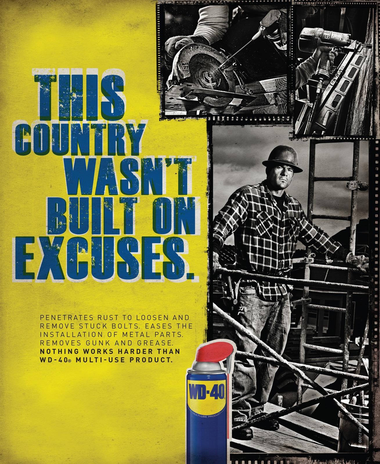WD-40 Print Ad -  Country