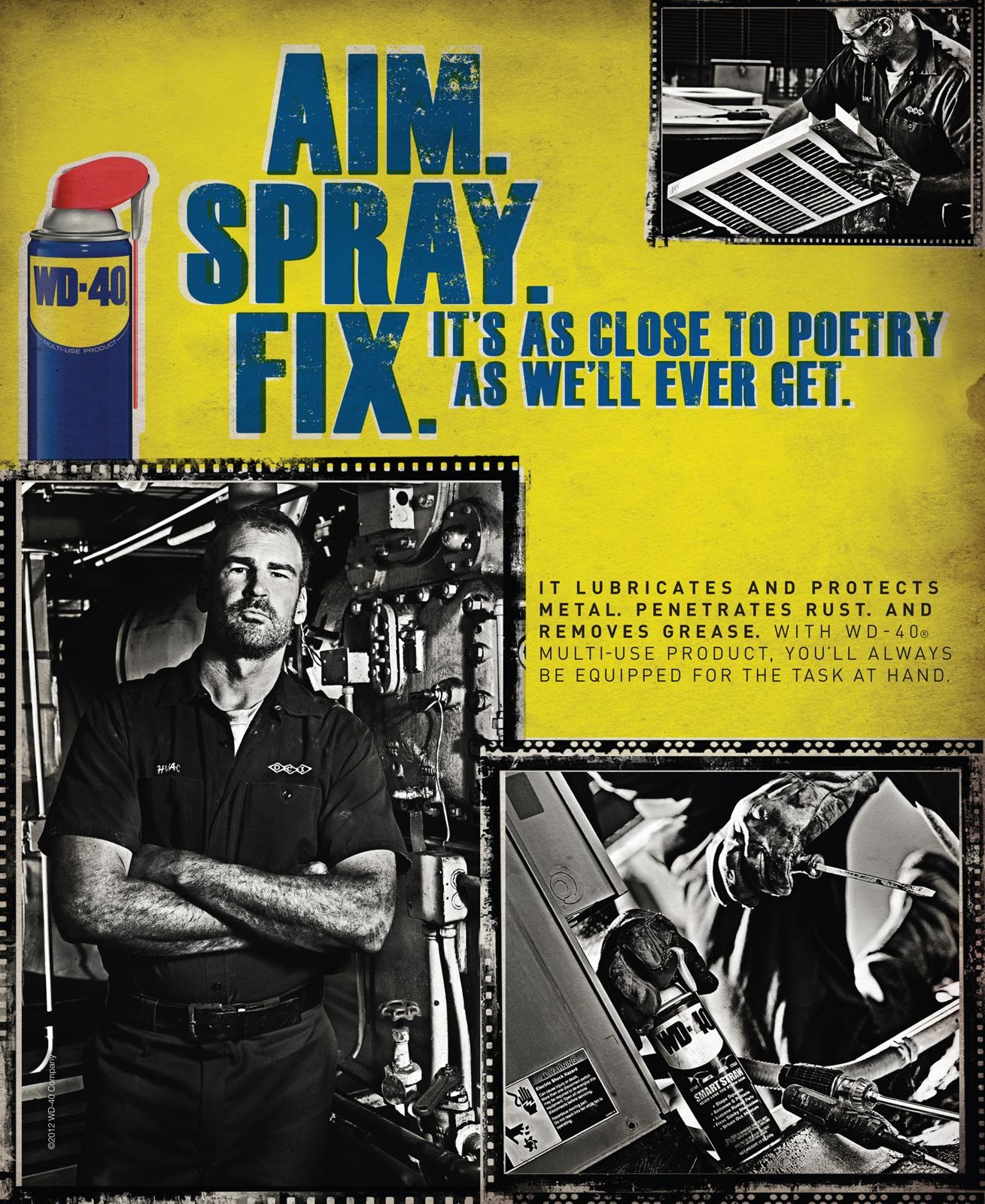 WD-40 Print Ad -  Poetry
