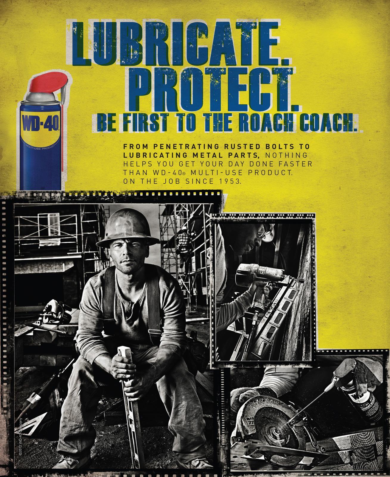 WD-40 Print Ad -  Roach Coach
