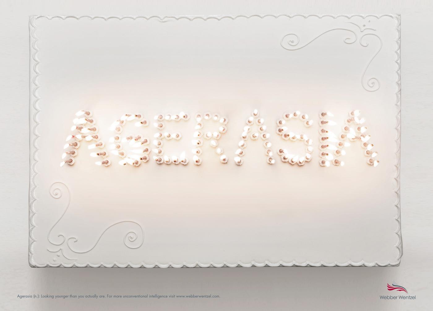 Webber Wentzel Print Ad -  Candles