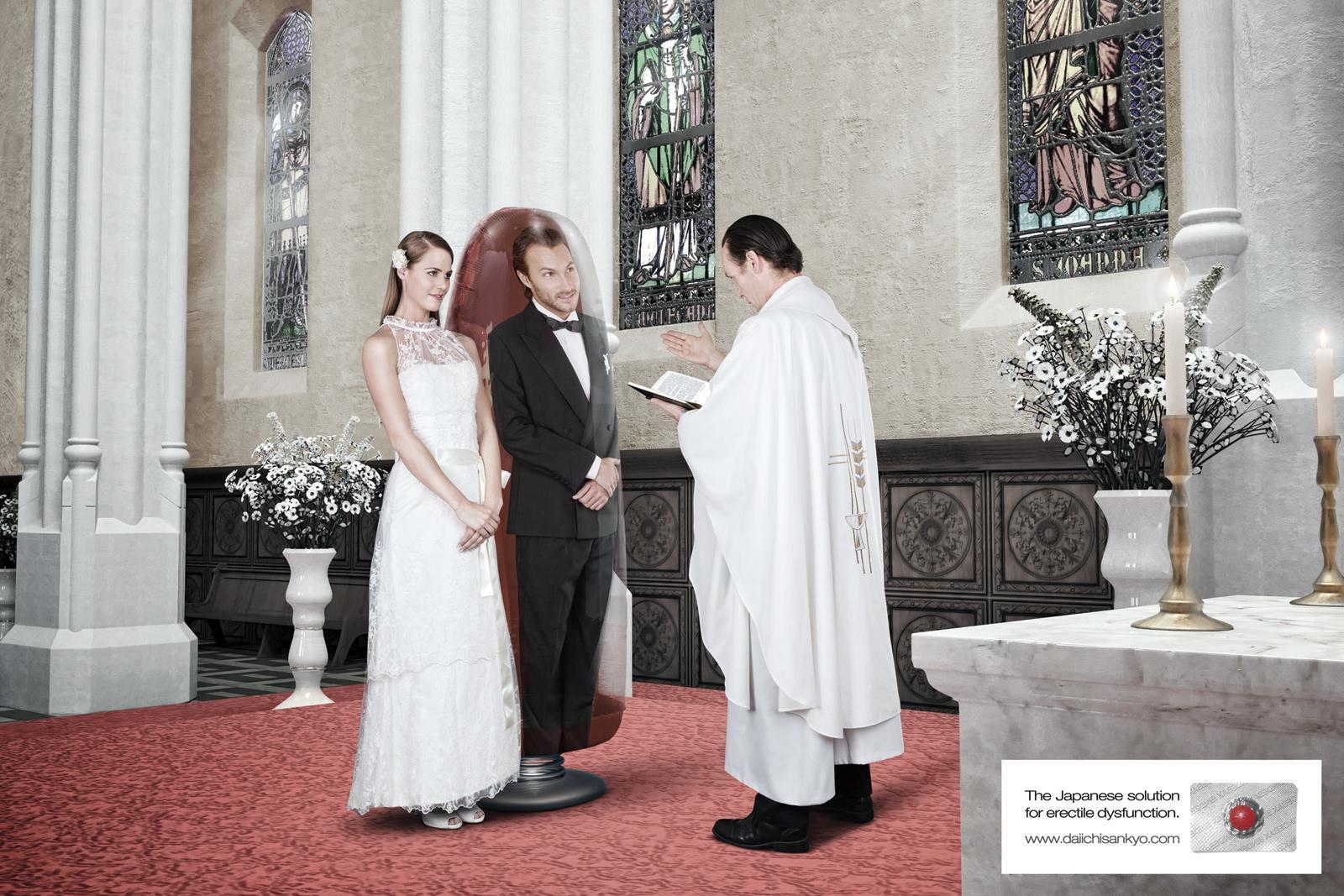 Sindebax Print Ad -  Weeble Wobble Wedding