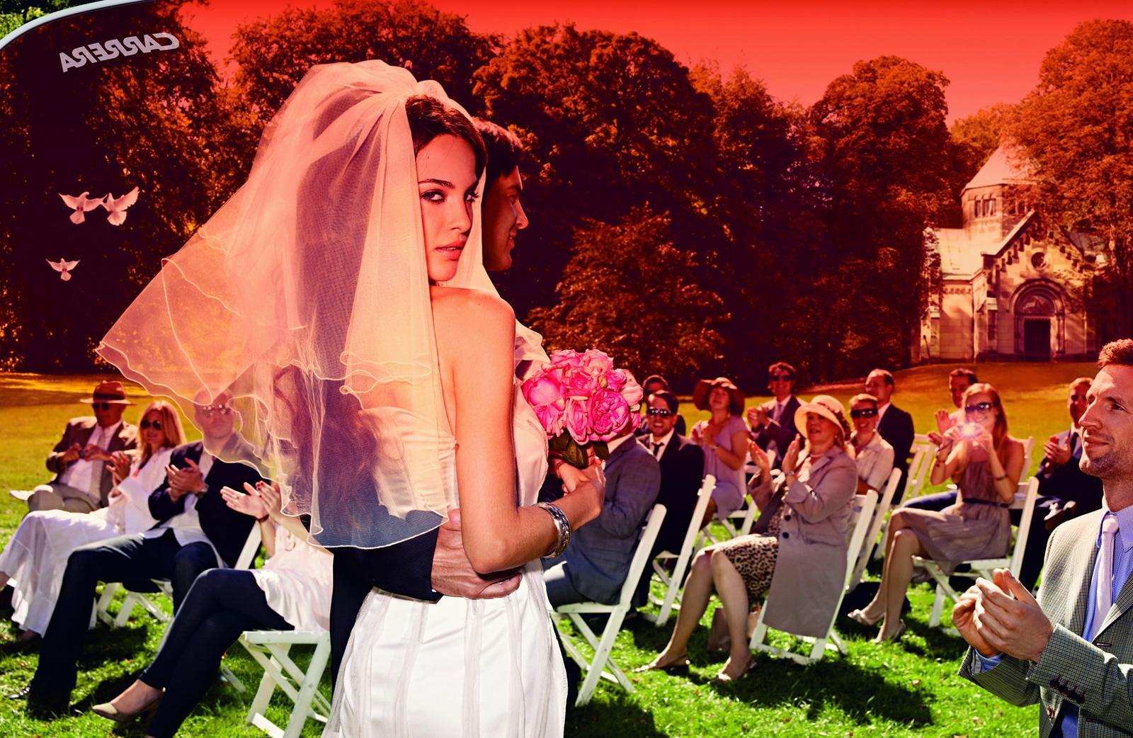 Carrera Print Ad -  Irresistible, Wedding