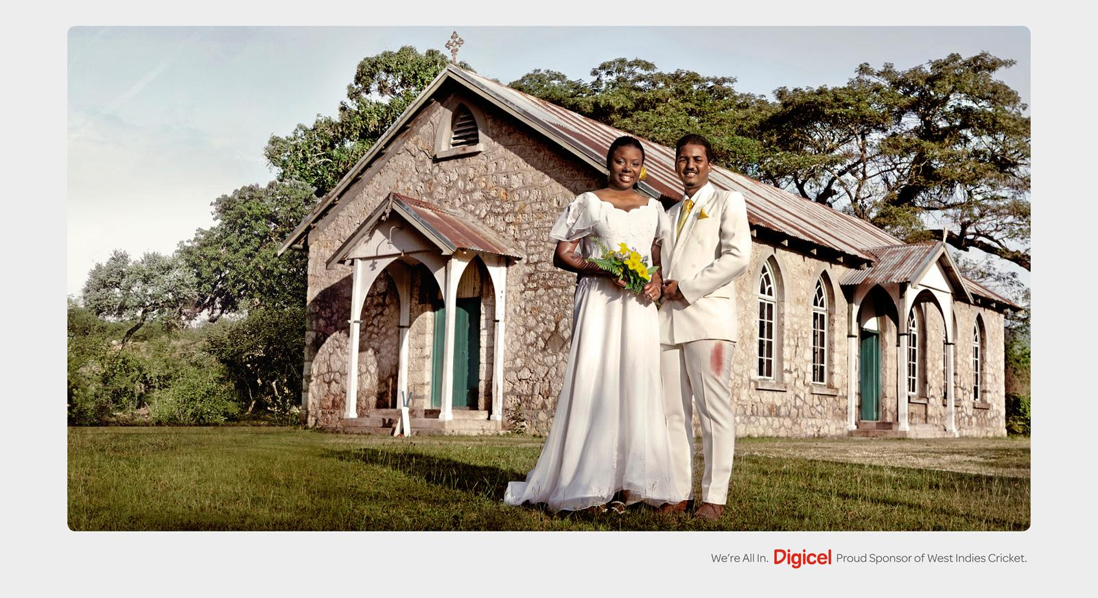 Digicel Print Ad -  Wedding