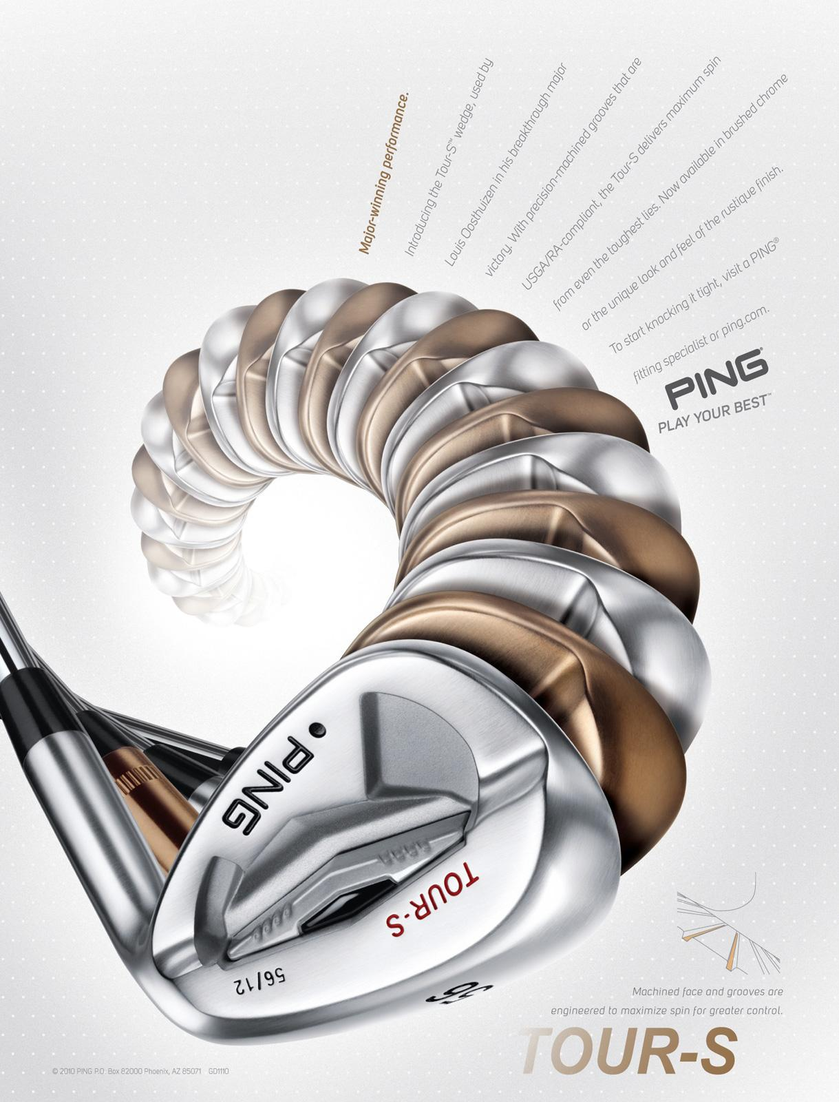 Ping Print Ad -  Wedge