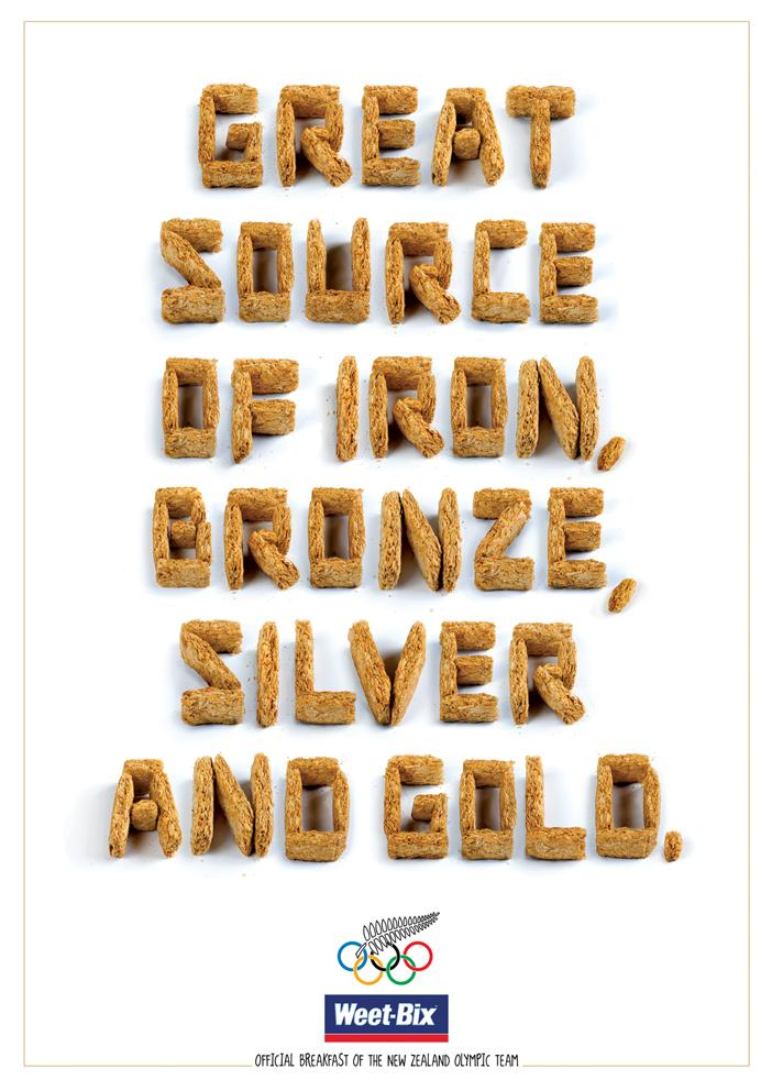 Weetbix Print Ad -  Every kind of metal